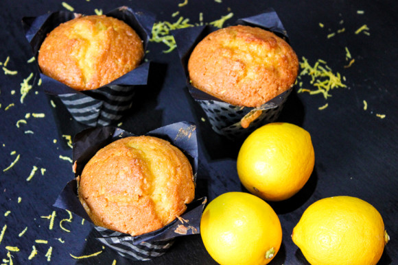 Zesty Lemon Muffins