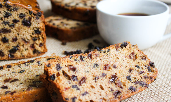 Welsh Brew Tea Bara Brith Slab Cake