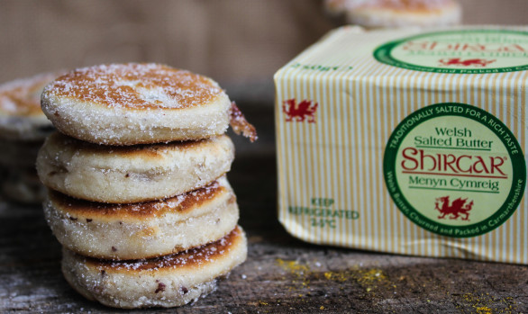 Hand Turned Shirgar Butter Welsh Cakes
