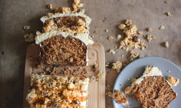 Cariad Carrot Bar Cake